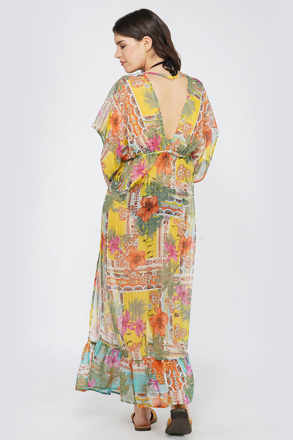 Boho Blissful Maxi Cover Up