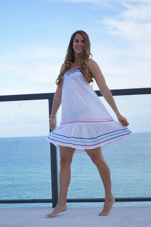 The Ema Tiered Dress
