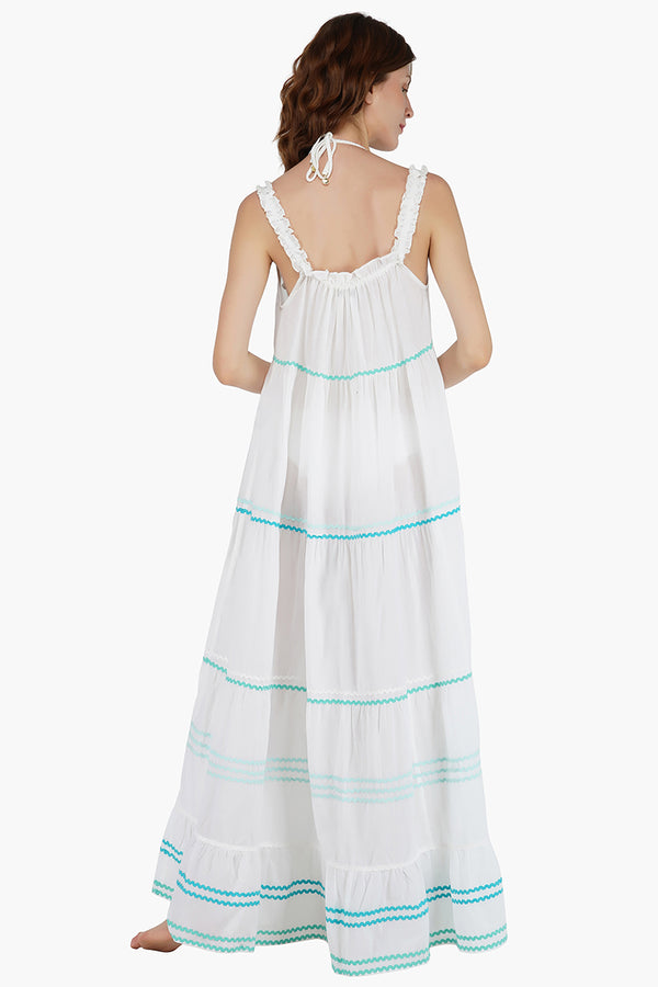 The Ava Tiered Maxi Dress