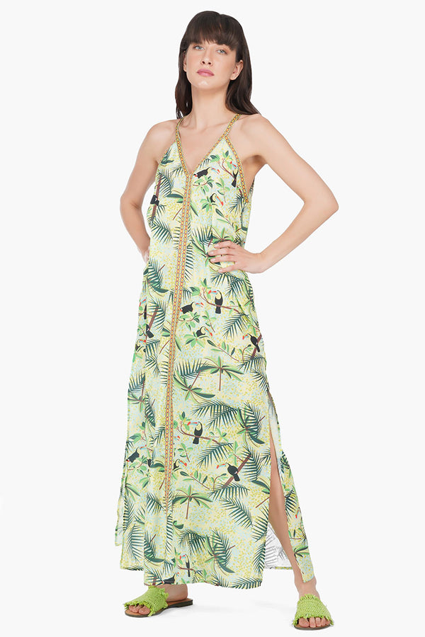 Totally Toucan Maxi Dress