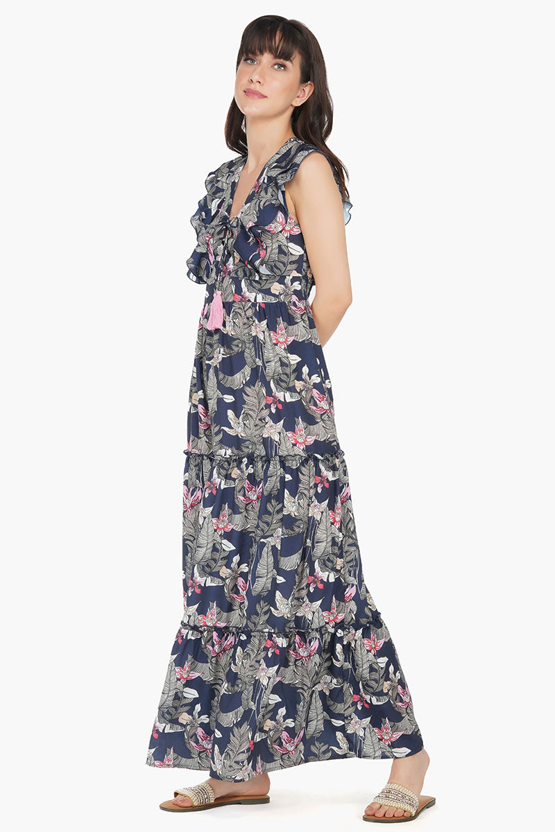 Maui Nights Maxi Dress