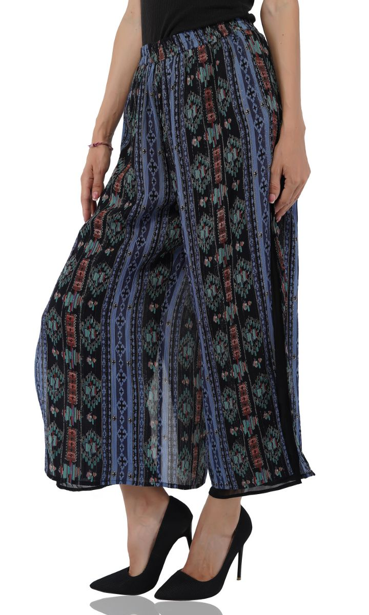 Dusk Blue Boho Lounge Pants | Women's Boho Pants