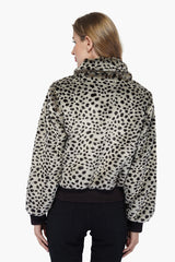 Cheetah Chic Bomber Jacket
