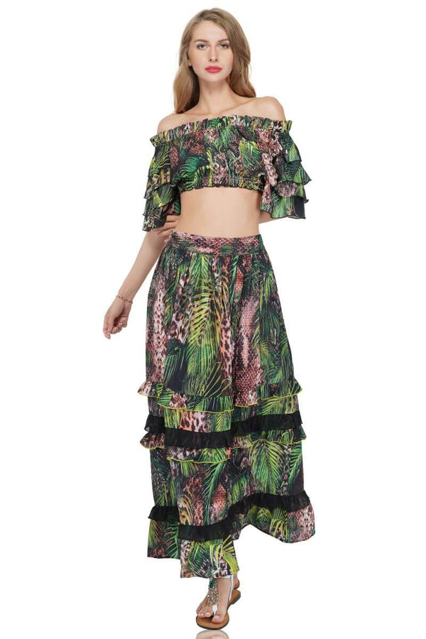 Jungle Dreams Crop Top