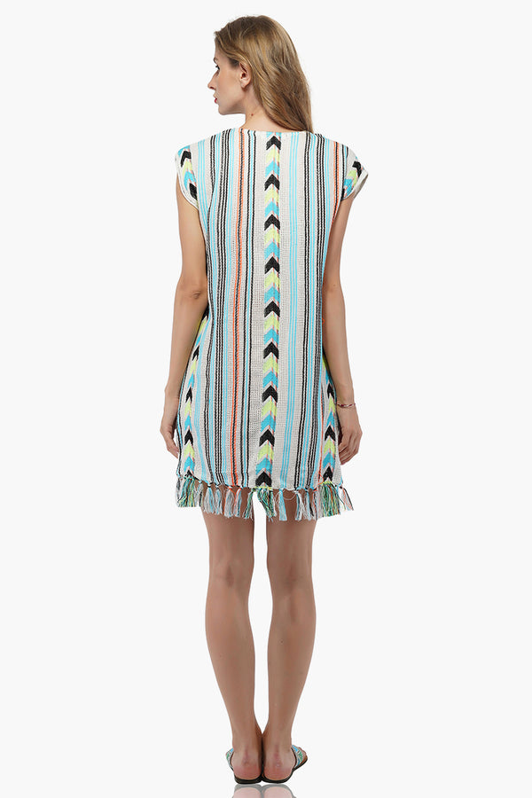 Aqua Haze Tunic Cover Up
