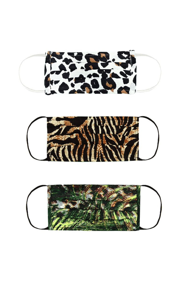 Amazing Animal Print MaskSet
