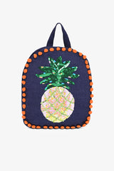 Pineapple Punch Backpack | Boho Jute Bag