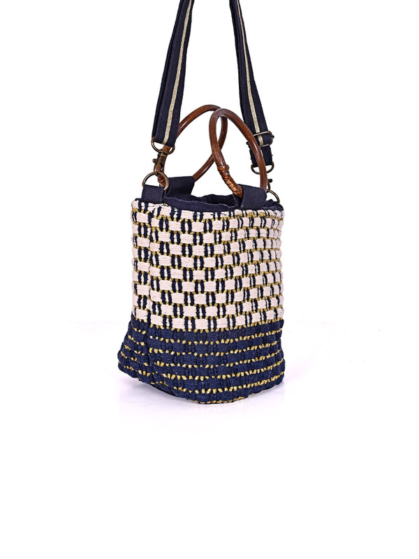 Pristine Stretch Bucket Bag