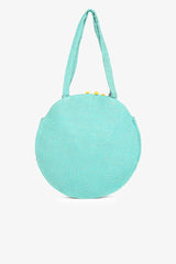 Chateau Rose Beaded Round Tote | Boho Handbags