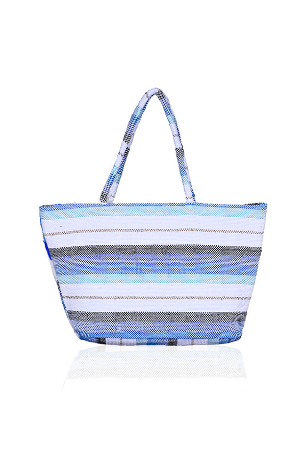 Ocean Wave Beach Tote | Cotton Beach Totes