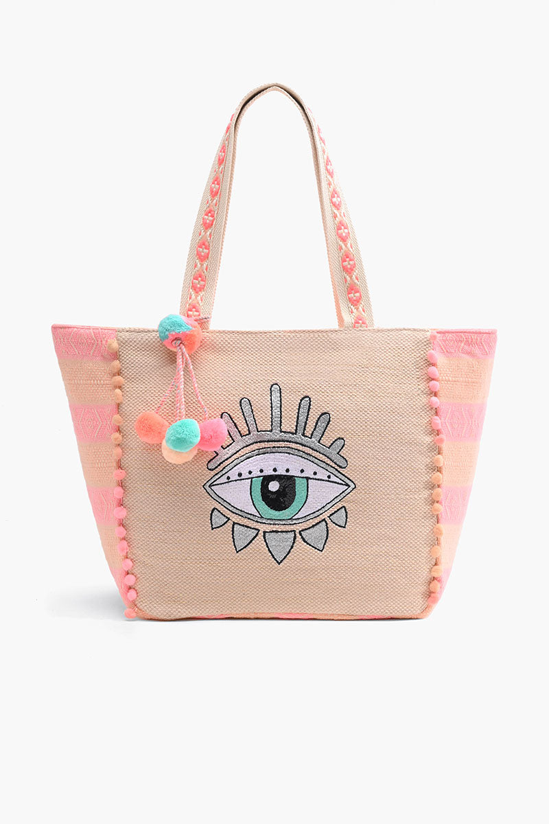 Bling Eye Shoulder Bag