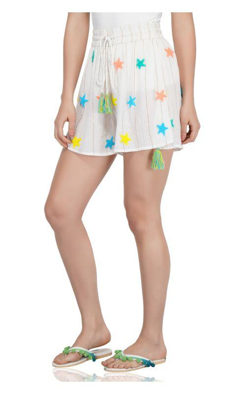 Rainbow Stars Lounge Shorts