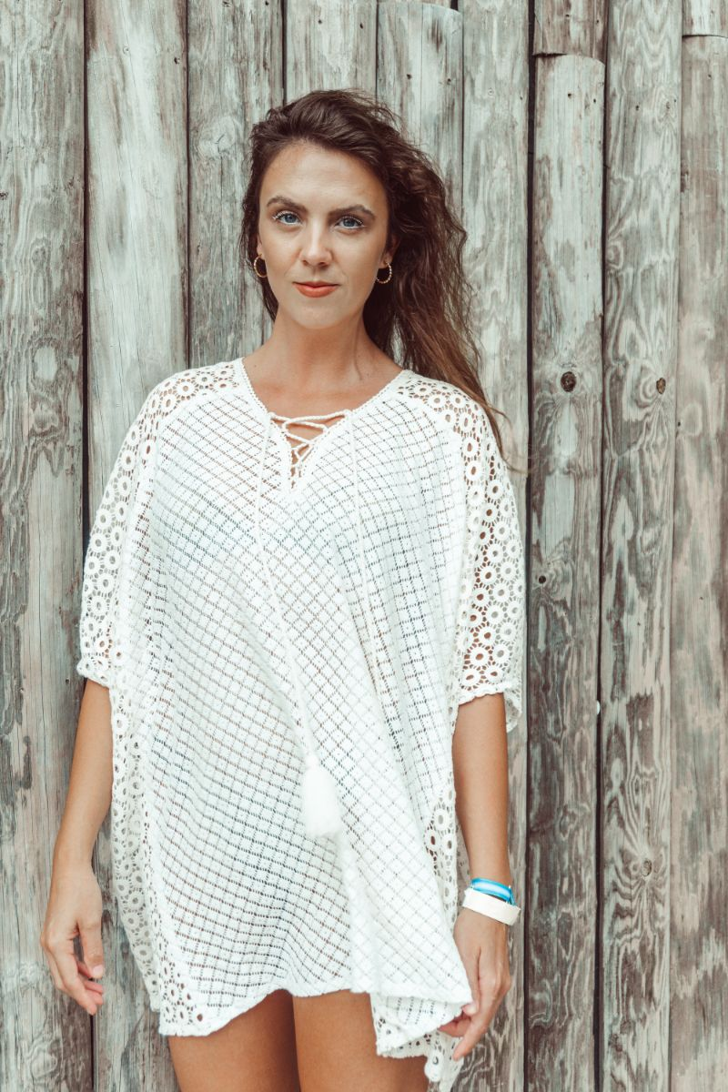 Mix n Match Lace Fabric Cover up | Bohemian Beach Cover Up