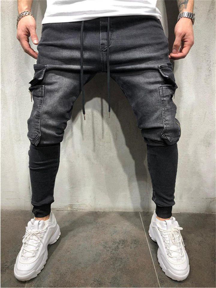 Men's Cool Style Casual Denim Pants