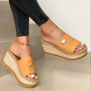 New Arrival Women Casual Platform Sandals