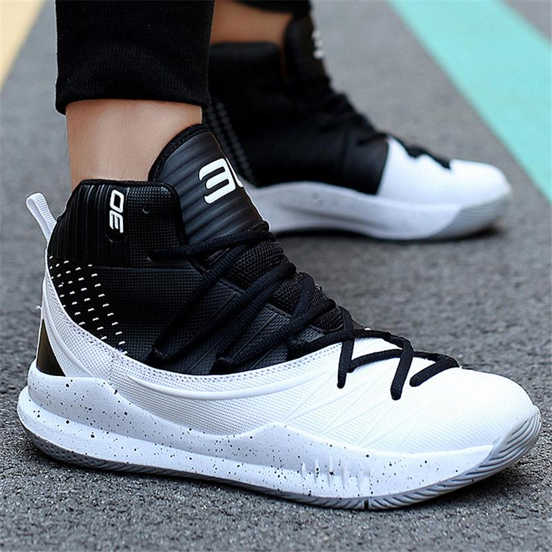 Mens Cool Lace-up High-Top Sneaker