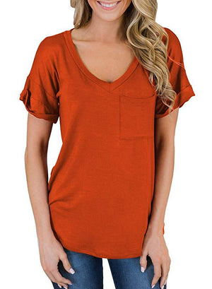 Women's Short Sleeved Comfy Modal Fashion T-Shirts