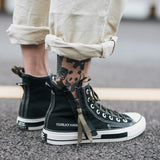 Pretty Cool Zipper Canvas Sneakers For Men and Women