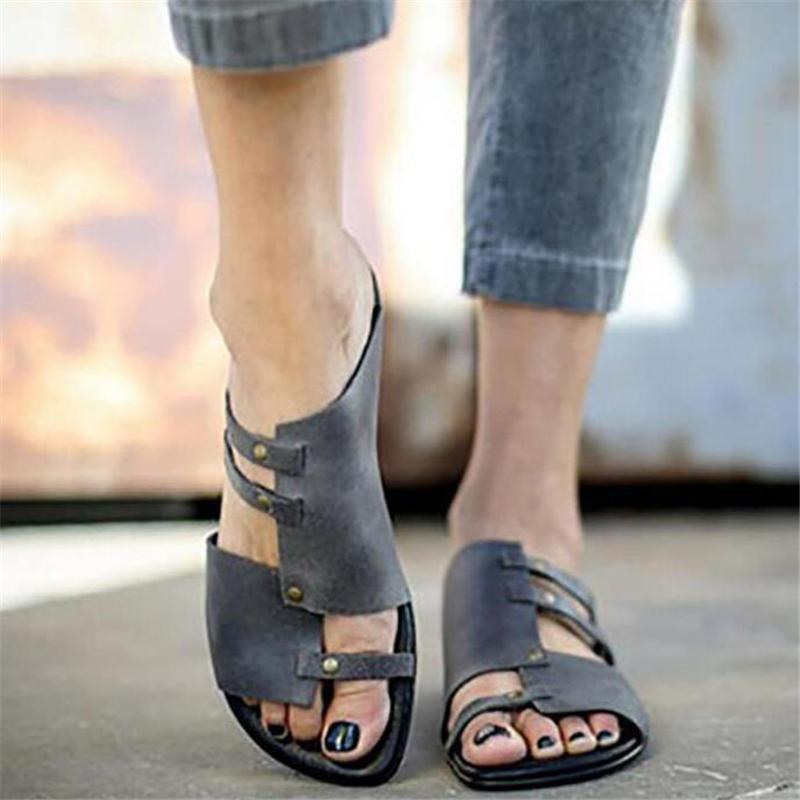 Low Heel Casual Sandals