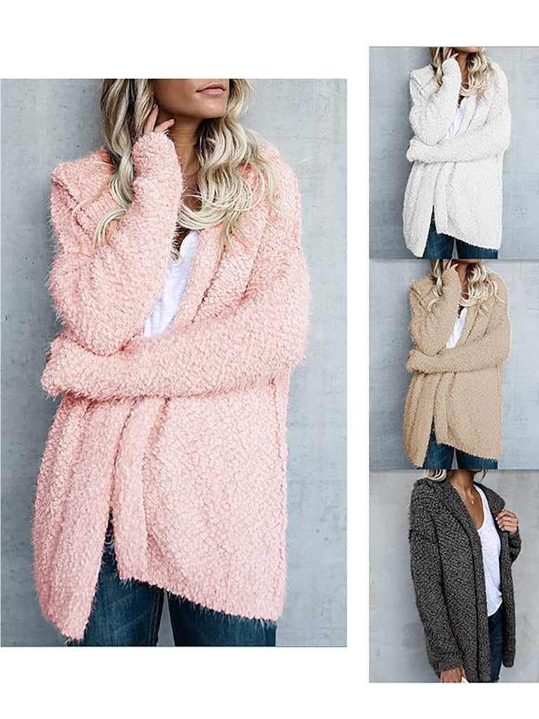 Women's Adorable Pockets Casual Hoodies For Winter