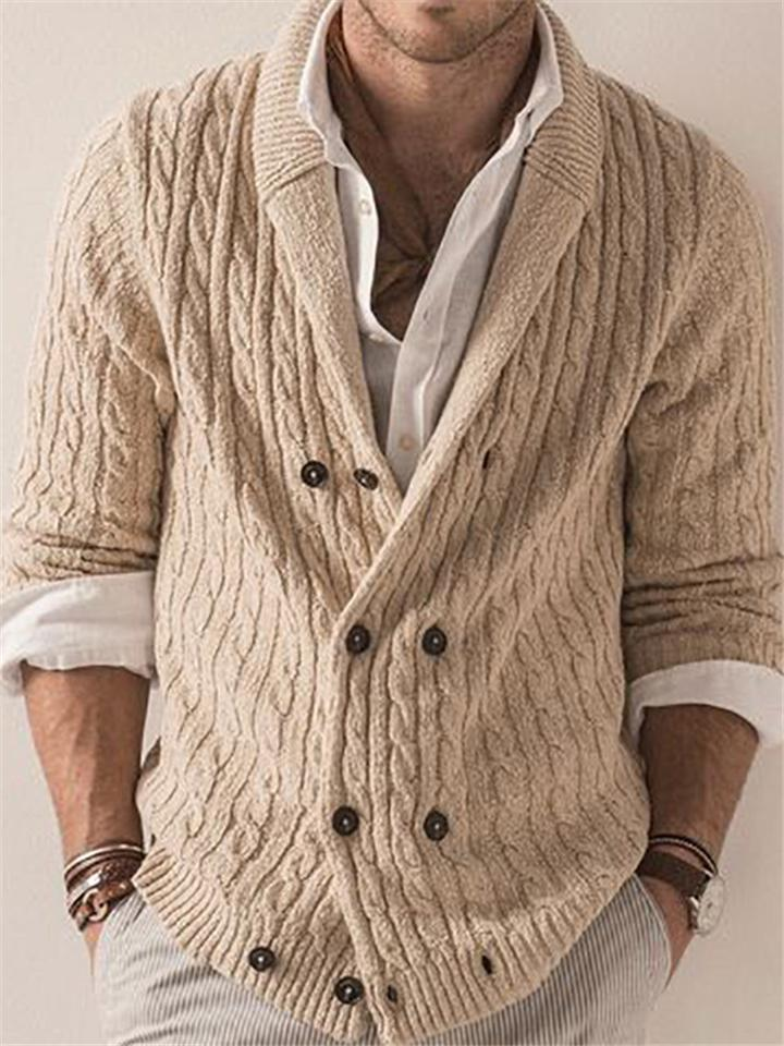 Extra Cozy Button Up Ribbed Knit Cardigan