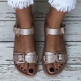 Women's Cool Buckle Flat Sandals