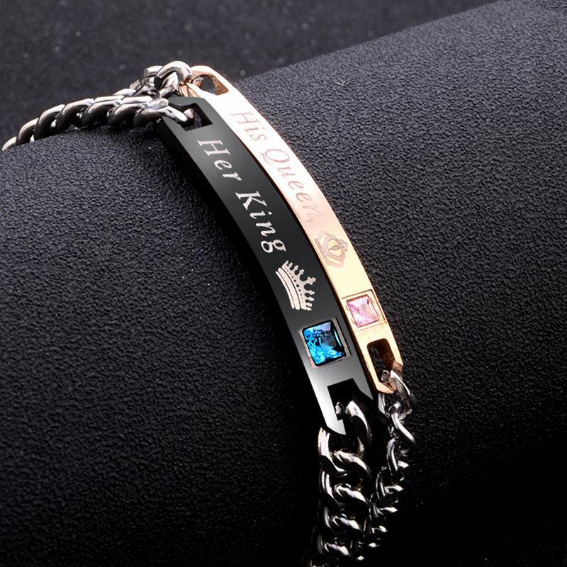 Pretty Stainless Steel Love's Bracelets