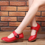 Women Casual Comfy Soft Breathable Wedge Heel Shoes