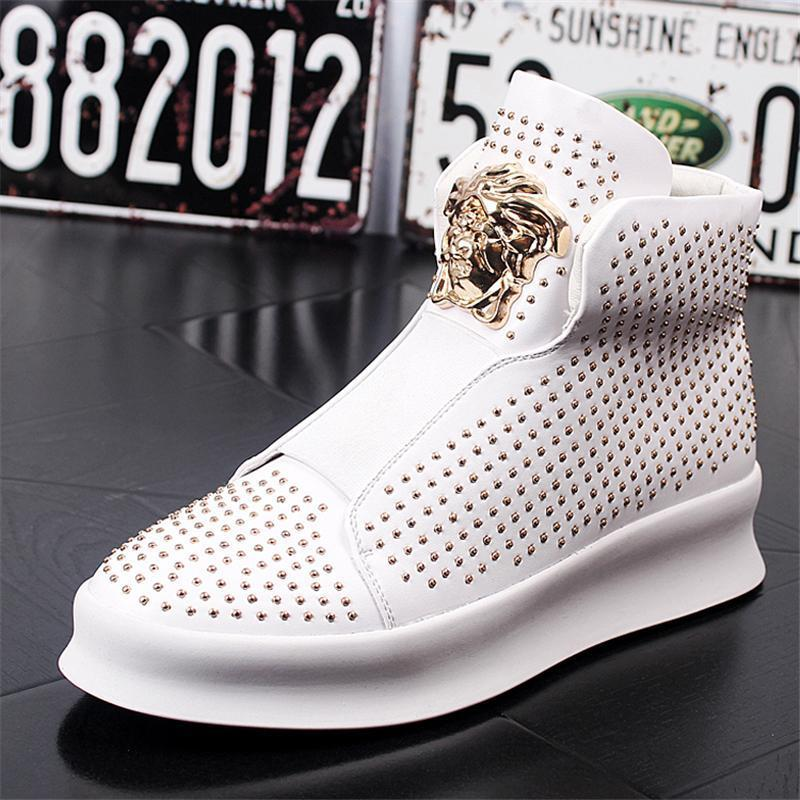 Hip Pop High-top Sneakers