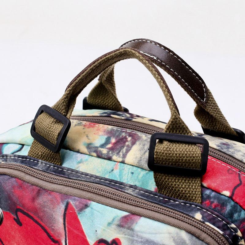 Flower Pattern Outdoor Shoulder Bag Crossbody Bag For Women
