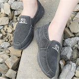 Men's Comfy Soft Canvas Flat Slip-on Shoes