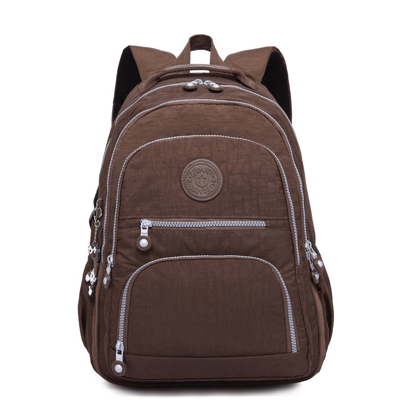 Practical Travel Outdoor Washable Nylon Large Capacity Backpack
