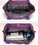 Multi Pockets Large Capacity Waterproof Nylon Handbag Shoulder Bag