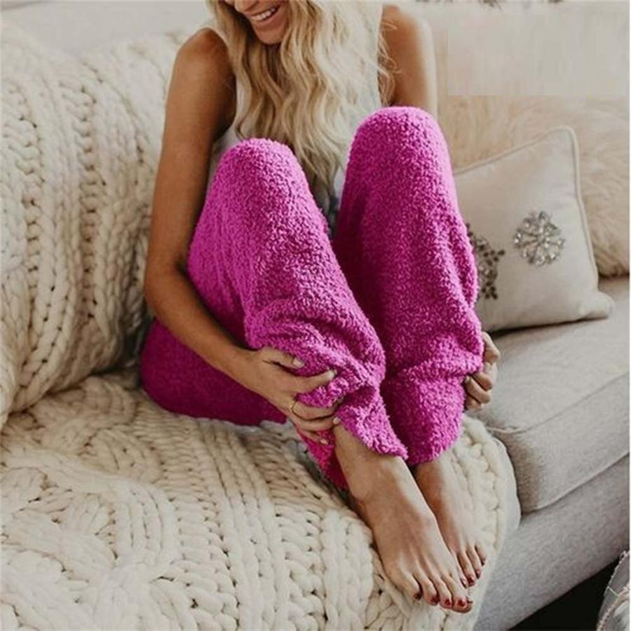 Comfortable and Warm Fleece Legging Pants For Winter