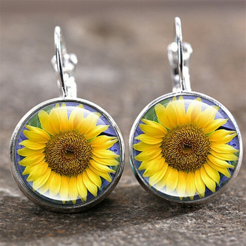 Women's Super Cute Round Earring Studs