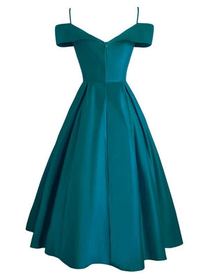Minimalist 1950S Cold Shoulder Belted Satin Strap Maxi Dress