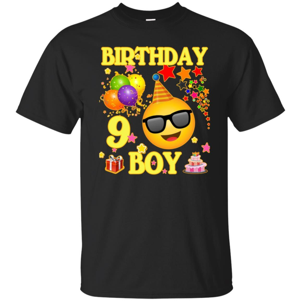Shop 9 Birthday Boy Shirt Years Old 9th Gift