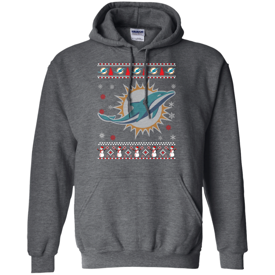Check Out This Awesome Miami Dolphins Christmas Ugly Christmas