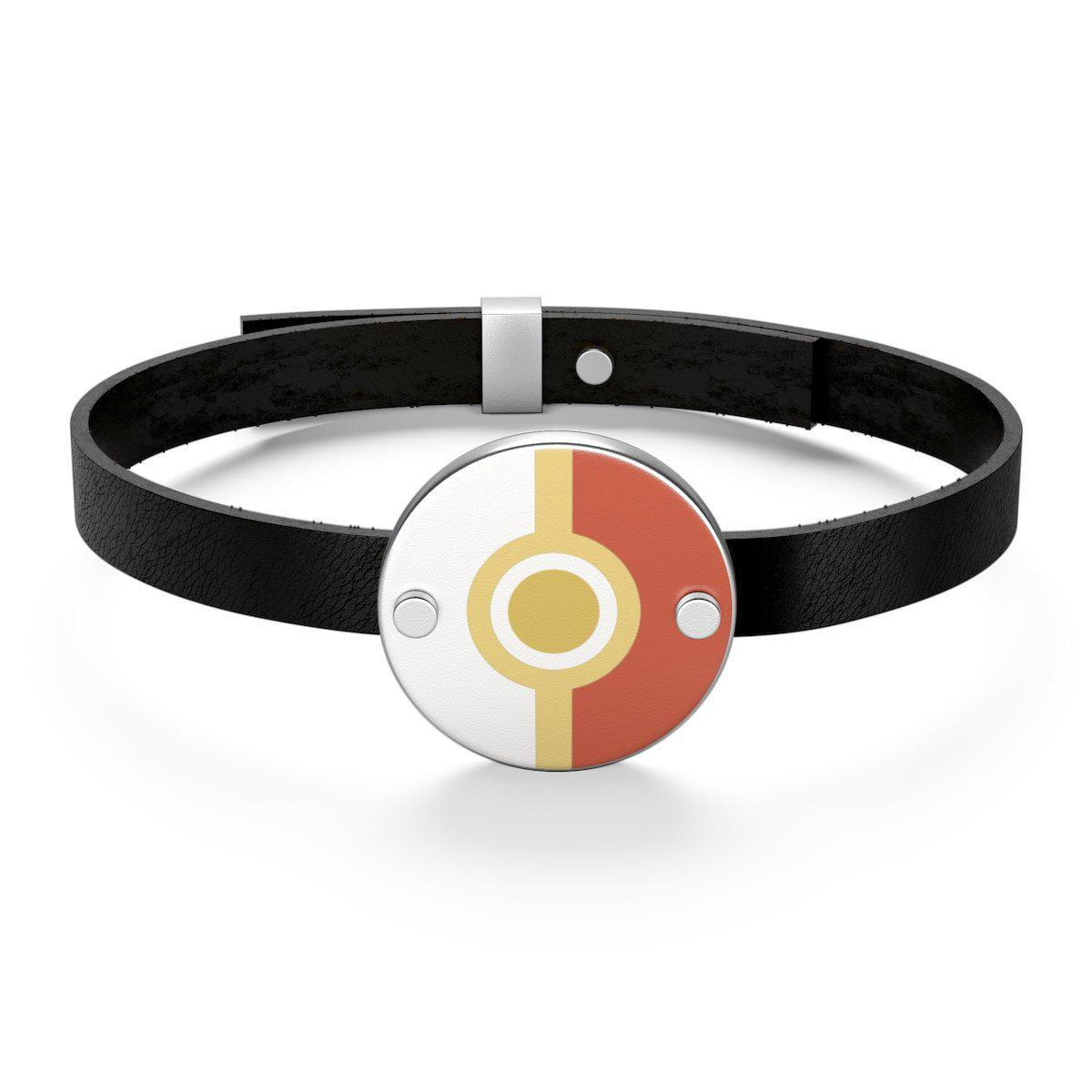 Pokeball Leather Bracelet