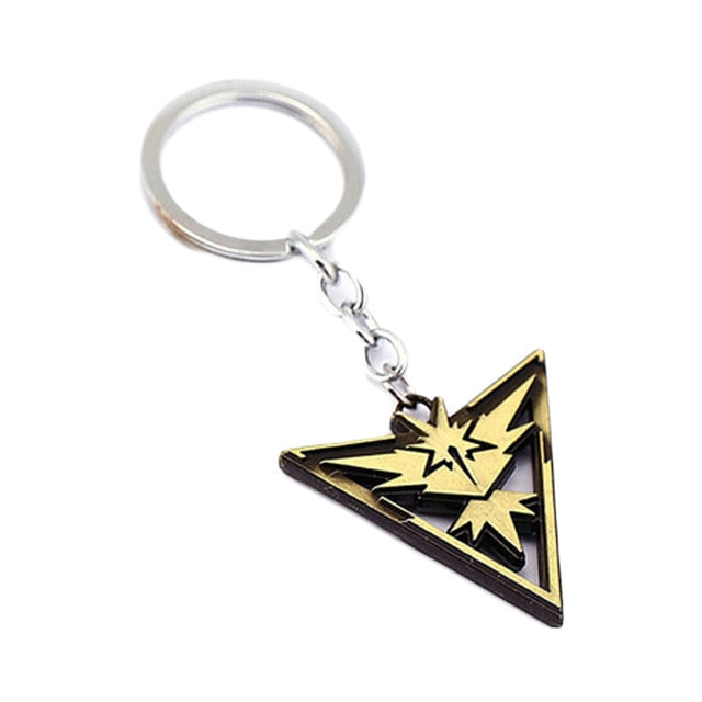 Pokemon Go Teams key chain