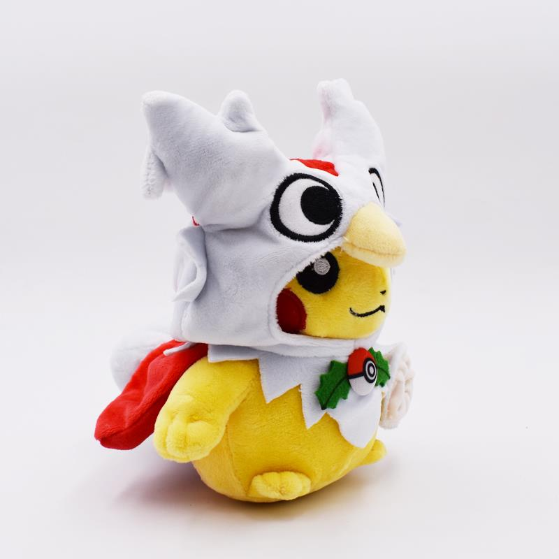 20cm Pikachu Cosplay Delibir Plush With Tag