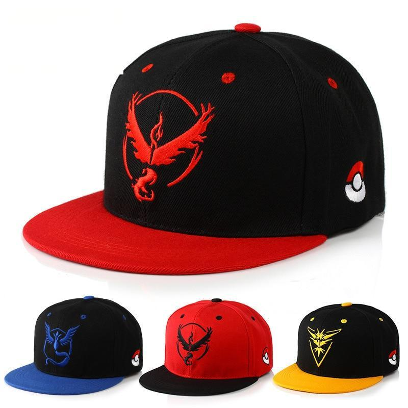 Pokemon Go Teams Adjustable Baseball Cap