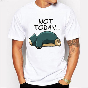 Not Today... Snorlax T Shirt