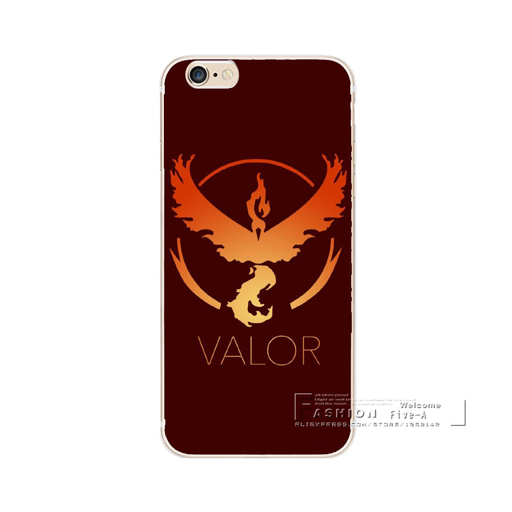 Team Valor iPhone Case (Regular)
