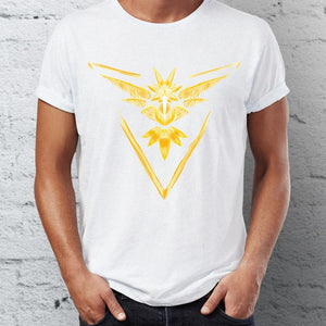 Pokemon Go Team Logo painting T-shirt