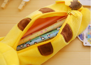 23CM Pikachu Plush Toy pencil case