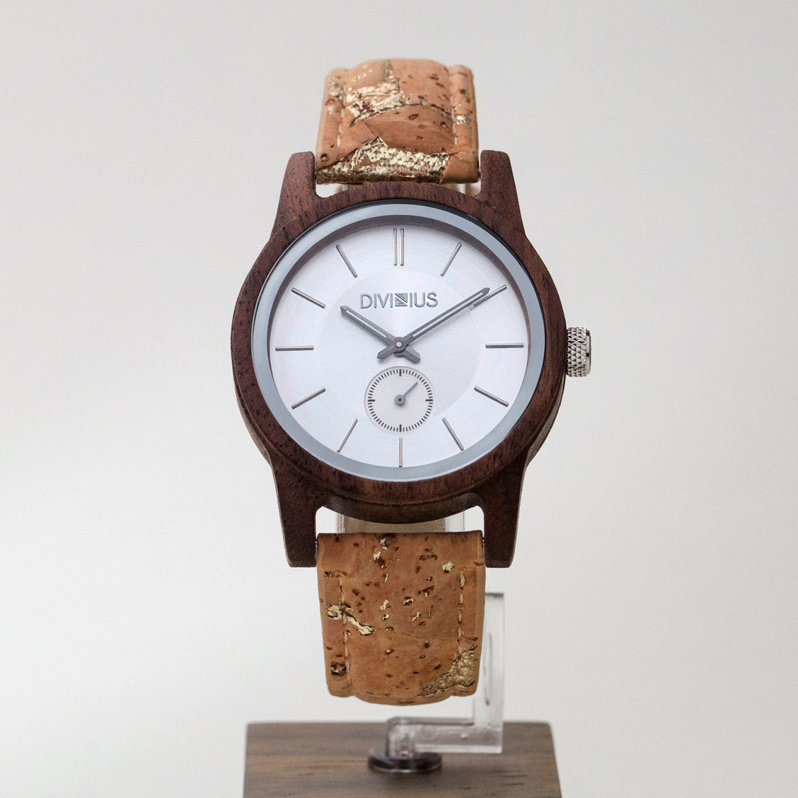 Load image into Gallery viewer, Silver Walnut | Golden Cork Add On