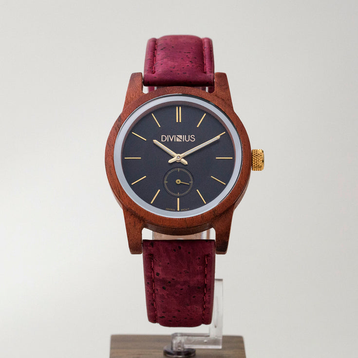 Gold Rosewood | Wine Red Add On