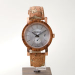 Load image into Gallery viewer, Rose Gold Teak | Golden Cork