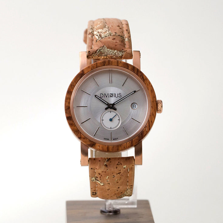 Rose Gold Teak | Golden Cork